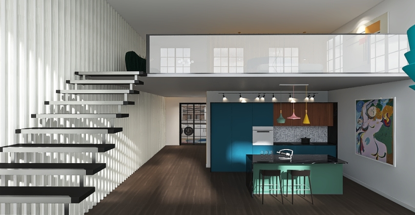 Eclectic by Kalani Interior Design Render