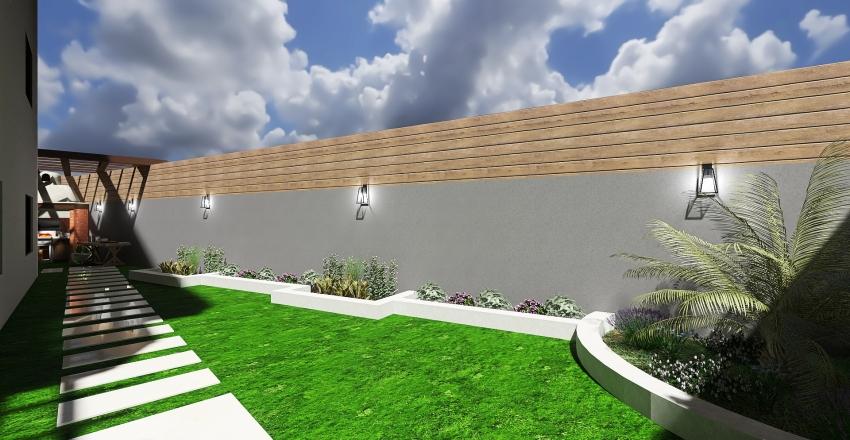 Jericho Villa Interior Design Render