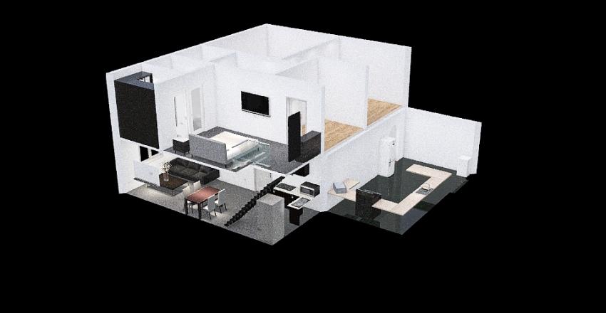 PPC Short Double Ext. Interior Design Render