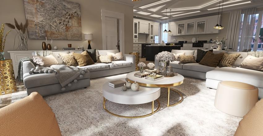 Apartamento de lujo Interior Design Render