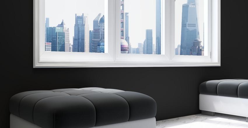 Better in Black Interior Design Render