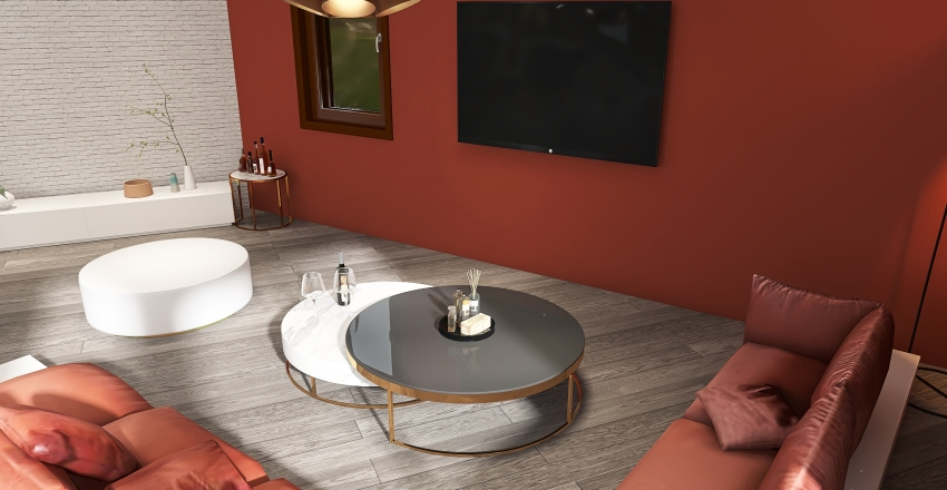 A place to relax Interior Design Render