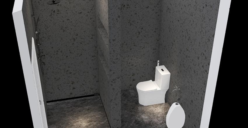 ห้องน้ำ Interior Design Render