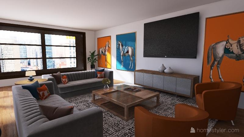 v2_New Fam House Interior Design Render