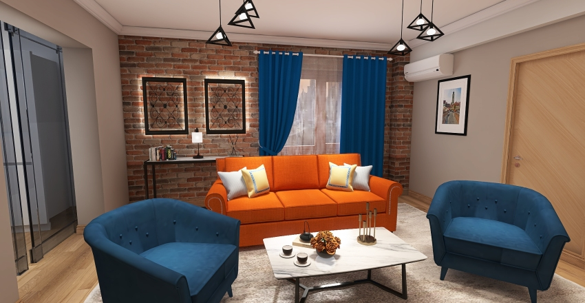 Pensiune SIbiu Et.2 Interior Design Render