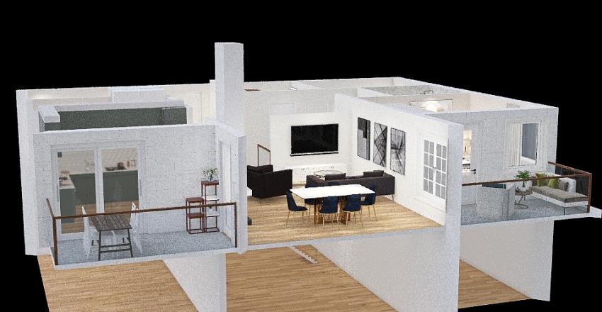 Resarö ÖP Alt 1 Interior Design Render