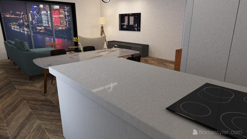 Náš domček 1 Interior Design Render