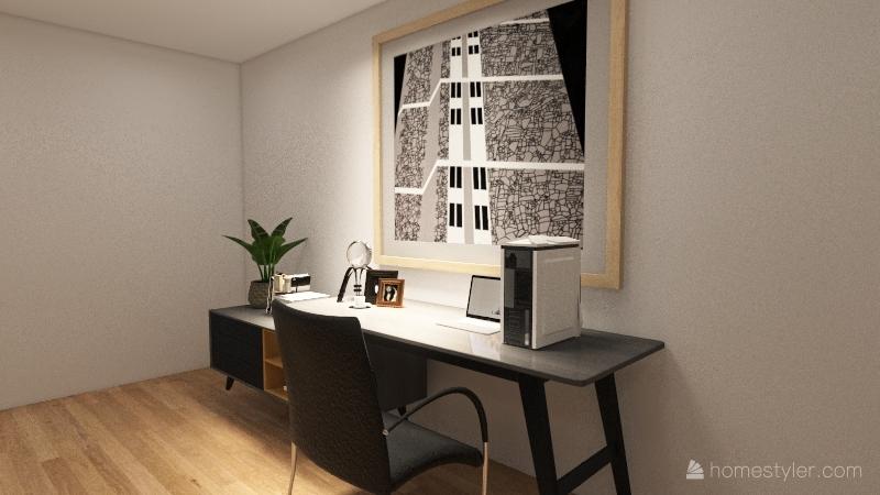 fam house 2 Interior Design Render