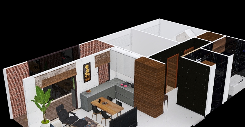 Chrobrego_79 Interior Design Render
