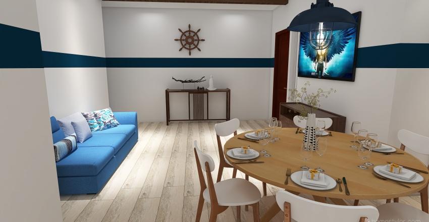 Cucina_marinaro_A Interior Design Render