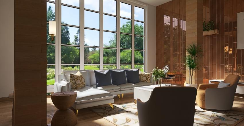 Country Life Interior Design Render