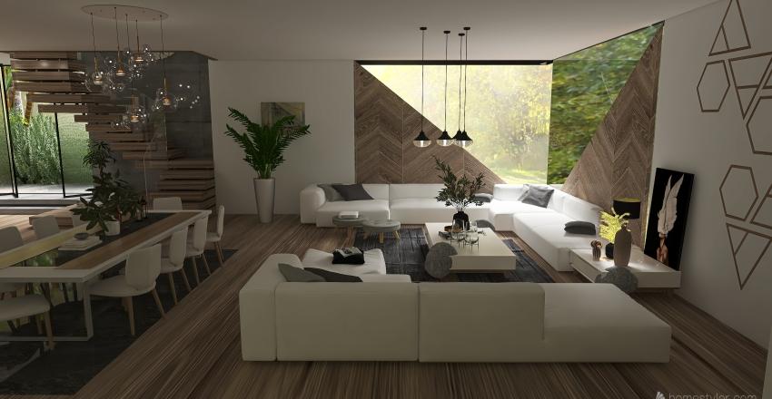 Wander Mountain Interior Design Render