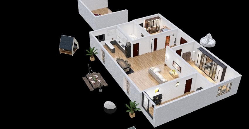 CASA HOUSE Interior Design Render