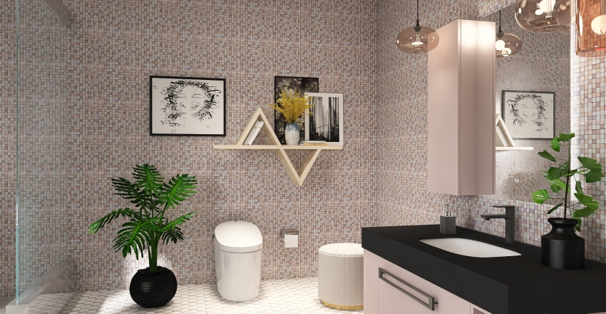 Activity Trend Project Interior Design Render
