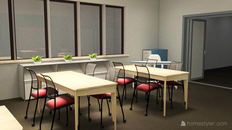 Discovery - Classroom Interior Design Render
