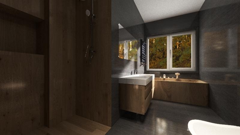 проект ванной Interior Design Render