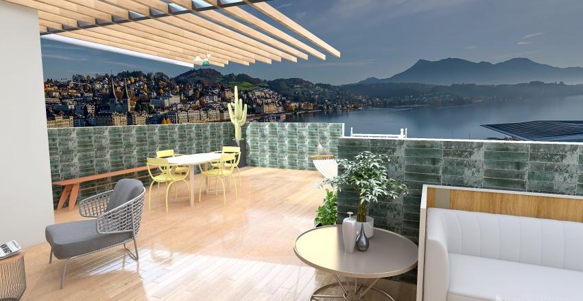 terrazzo Interior Design Render