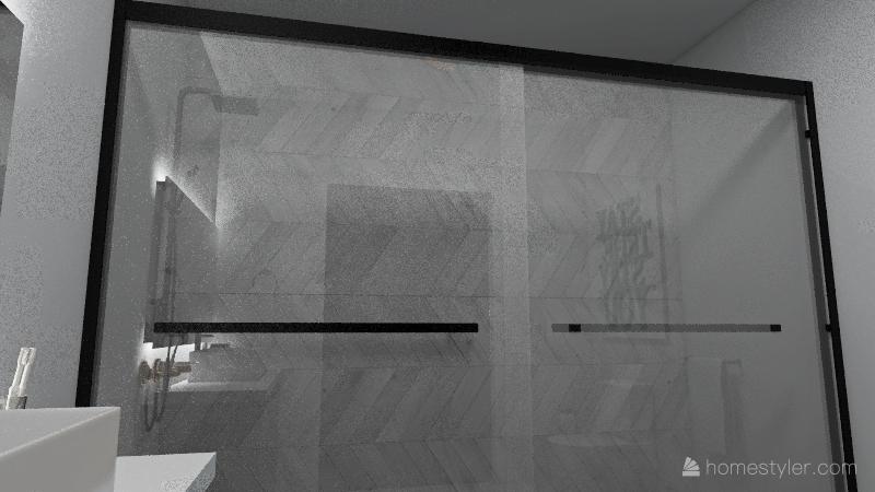 Green City Apartment Interior Design Render