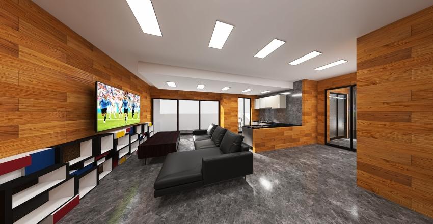 PCTO Quasar project Interior Design Render