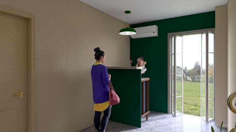 Copy of 櫃台2 Interior Design Render