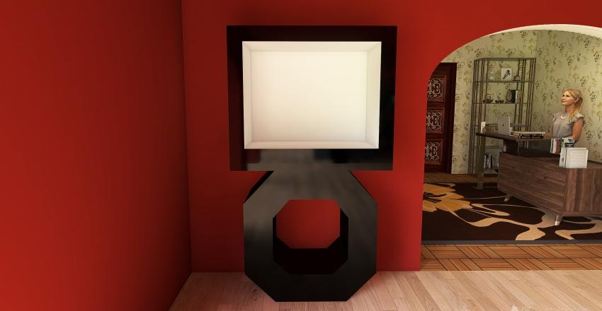 Progetto erboristeria Interior Design Render