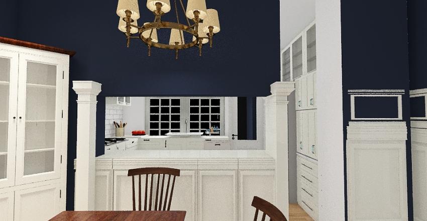 Kitchen Bump Out Interior Design Render