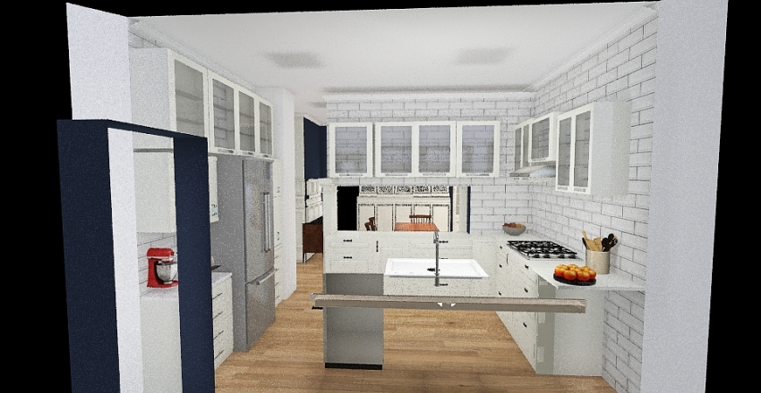 Copy of Kitchen Remodel Draft 2 Interior Design Render