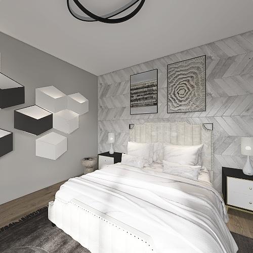 maître de chambre moderne(FRENCH) Interior Design Render