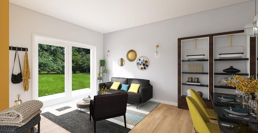 VILLETTA_A3_cucina Interior Design Render