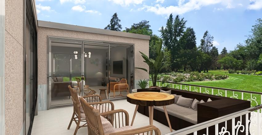 weekend house,Turkey,Bodrum. Interior Design Render
