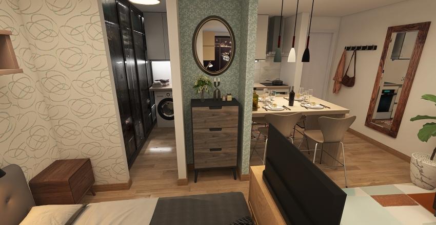 Campinas Flat 6 Interior Design Render
