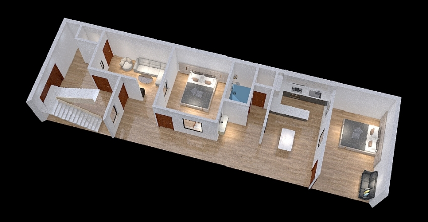 P01 Interior Design Render