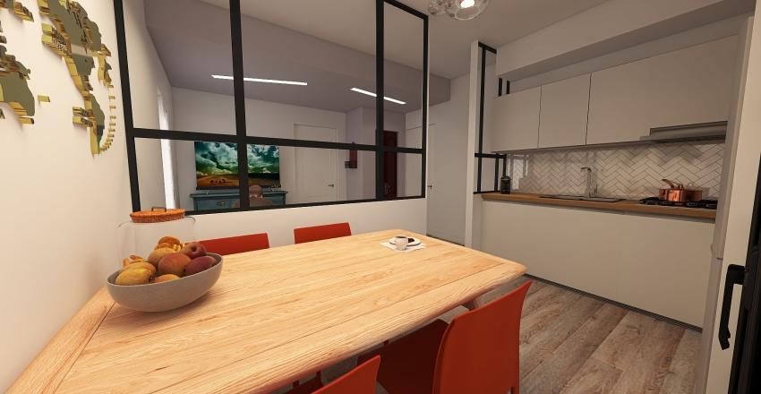 V.01_Conzato_Via XX SETTEMBRE Interior Design Render