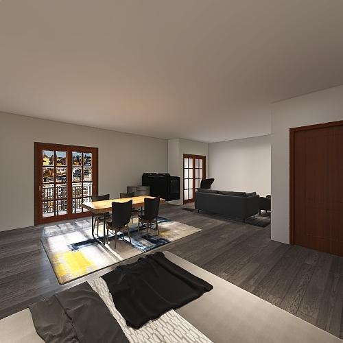Studio by Aiden Maslott Interior Design Render