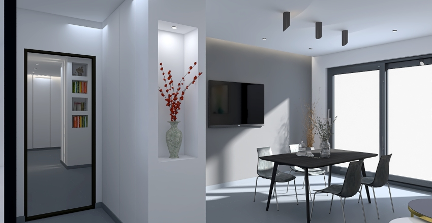 Casella's home Interior Design Render