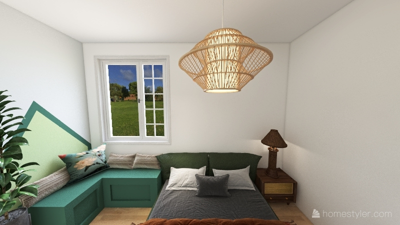 property  farm house Interior Design Render