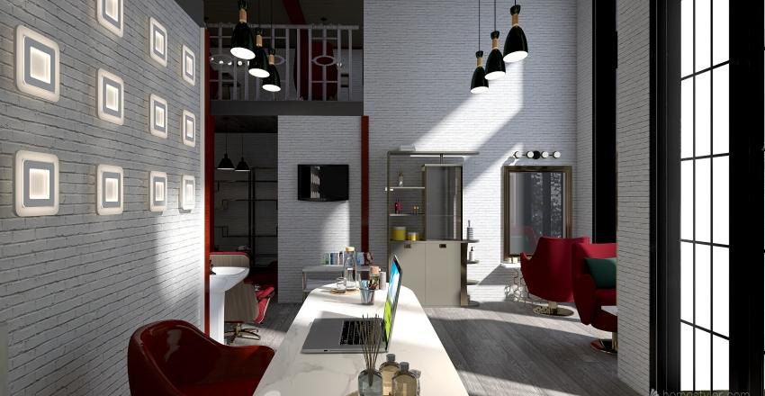 салон Interior Design Render