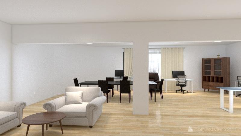 OFICINA PERFOINGENIERIA Interior Design Render