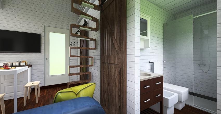 v2_Manu Tiny House Interior Design Render