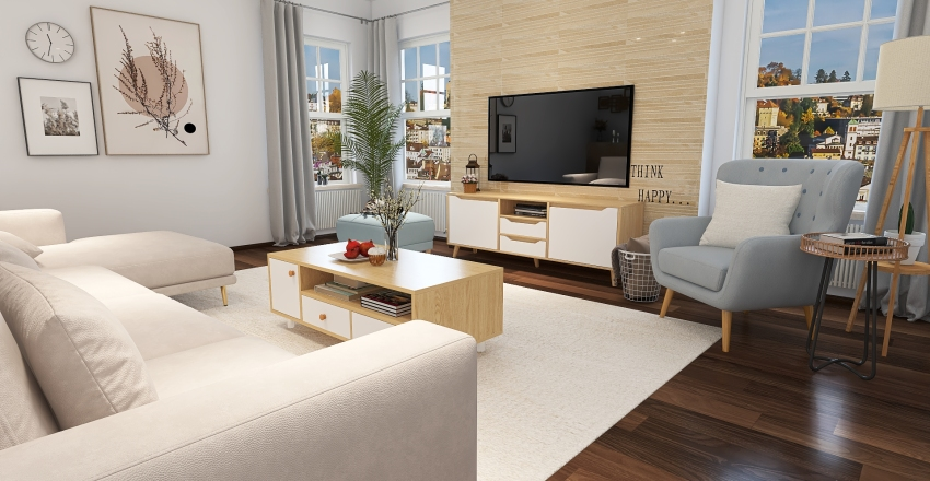A house to my measure Interior Design Render