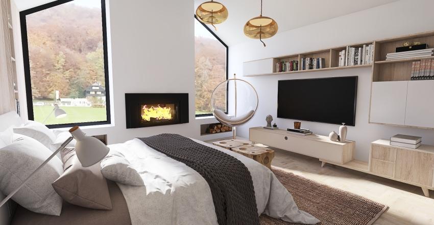 Apartamento en zona residencial Interior Design Render