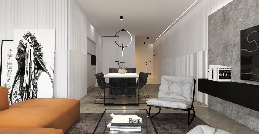 CITY VIEW Interior Design Render