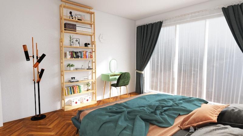 apartment A Interior Design Render