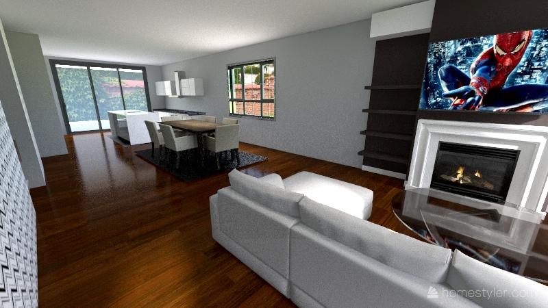 Sm_Craftsman Interior Design Render