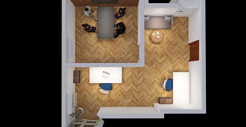 Ordynacka 2.0 Interior Design Render