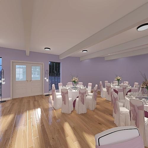 SALONE MATRIMONIALE Interior Design Render