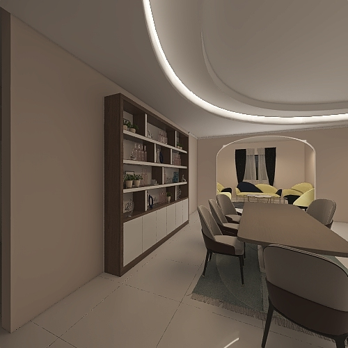 v2_Dream Home_copy Interior Design Render