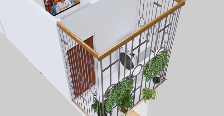 NHÀ CHỊ THÚY-TẦNG 1 Interior Design Render