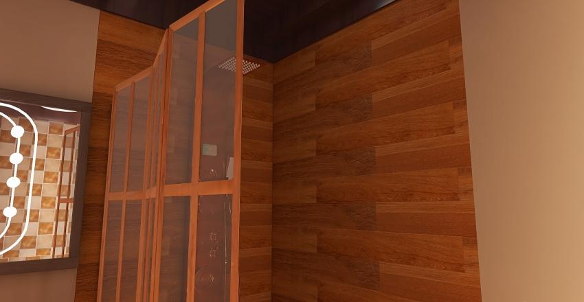 2 floor modern Cottage Interior Design Render