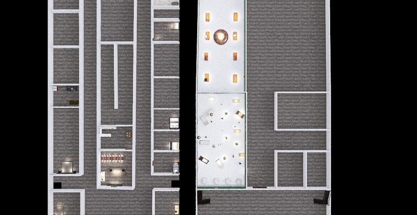 game design house Interior Design Render
